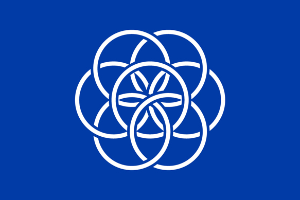 Vision d'artiste pour un drapeau planétaire