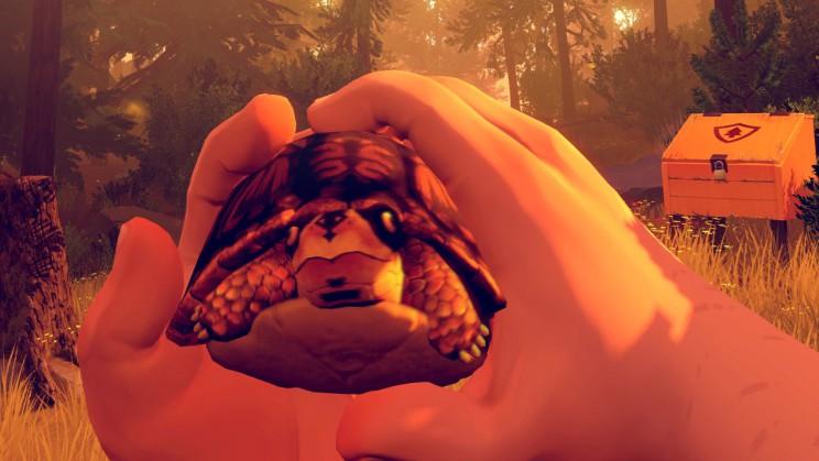 Ici point de survie, pas la peine de bouffer cette tortue, le jeu est un long couloir